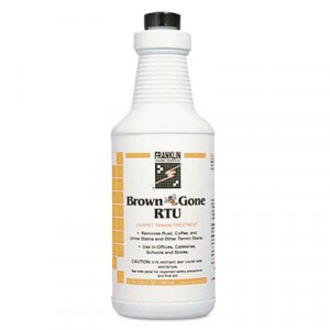 Brown 'Bee' Gone RTU Carpet Tannin Treatment, Liquid, 1 qt. Flip-Top Bottle