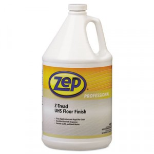 Z-Tread UHS Floor Finish, Neutral, 1gal Bottle