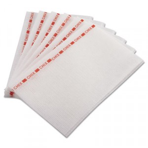 Food Service Towels, 13x21, Red/White