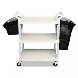 Xtra Utility Cart, 300-lb Cap., 2 Shelves, 20w x 40 5/8d x 37 4/5h, Gray