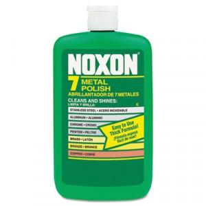 Noxon 7 Metal Polish, Liquid, 12 oz. Bottle