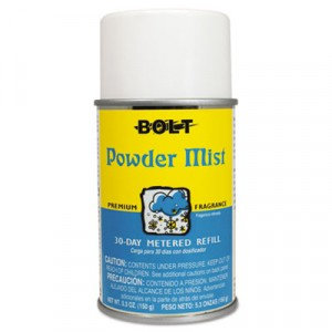 Metered Air Freshener Refill, Powder Mist, 5.3oz, Aerosol