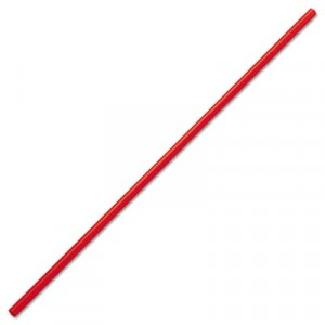 "Stir Sticks 5-1/4"" Plastic Red 1000/BX 10/CS"
