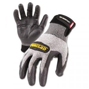 Cut Resistant Stainless Steel, Nylon-Mesh Gloves, Pair, Black, X-Large