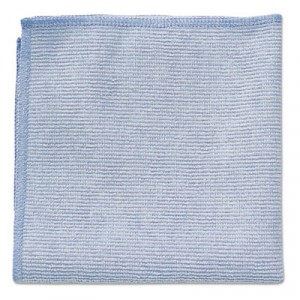 Microfiber Cleaning Cloths, 12x12, Blue