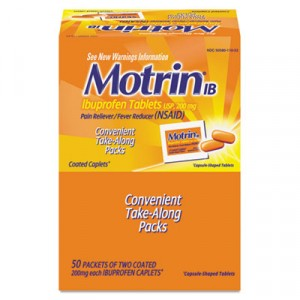 Ibuprofen Tablets, 50 Two-Packs/Box