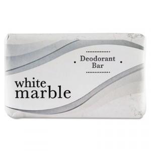 Deodorant Soap Bar, Individually Wrapped, White, 2.5 oz. Bar