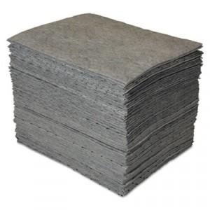 GP MAXX Enhanced Sorbent Pads, .25gal, 15w x 19l, Gray