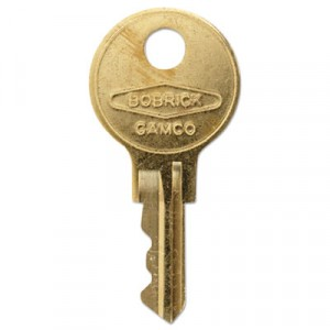 Cat 74 Key for Towel Dispensers, Metal Key