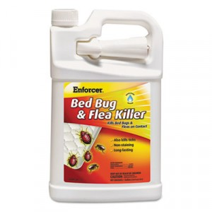 Bed Bug & Flea Killer, 1 gal Bottle, For Bed Bugs/Fleas/Ticks
