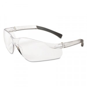 KLEENGUARD V20 Eye Protection, Polycarbonate Frame, Clear Frame/Lens