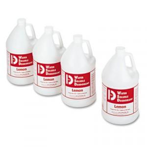 Water-Soluble Deodorant, Lemon Scent, 1gal Bottles