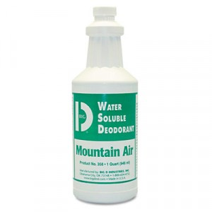 Water Soluble Deodorant, Mountain Air, 32 oz