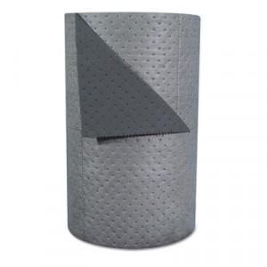 "High-Traffic Series Sorbent-Pad Roll, 63gal, 30"" x 300ft, Gray"