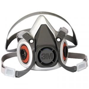 Half Facepiece Respirator 6000 Series, Reusable, Large