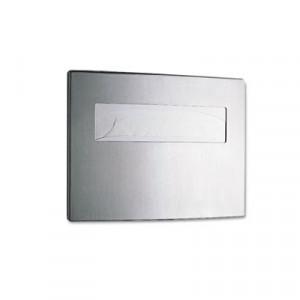 Toilet Dispenser Seat Cover Contora Brushed Aluminum