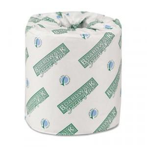 Green Plus Bathroom Tissue, 2-Ply, White