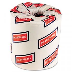 One-Ply Toilet Tissue Sheets, White
