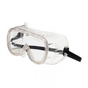 Basic-DV Goggle, Clr Lens, Clr PVC Frm, Elastic Strap, OTG, AS