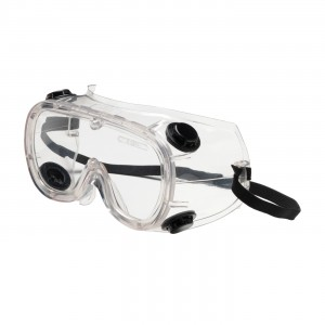 Safety Glasses Semi-Rimless Clear Lens Frames 12/BX 144/CS