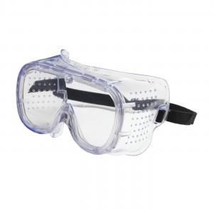 550 Softsides Goggle, DV, Clr Lens, Clear Bl Frm, Elastic Strap, AS