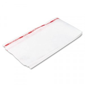 Reusable Food Service Towels, Fabric, 13-1/2x24, White