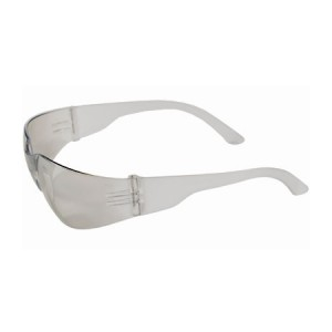 Safety Glasses Rimless Clear Temple Indoor/Outdoor Lens 12/BX 12/CS