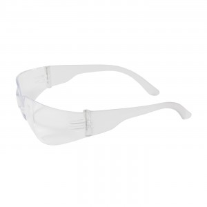 Safety Glasses Rimless Clear Temple/Anti Fog Lens 12/BX 12/CS