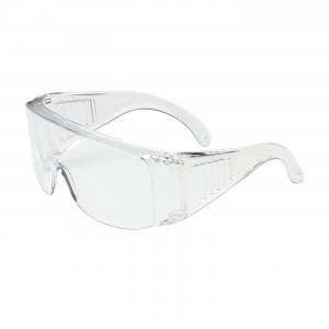 "Safety Glasses Clear Hard Coat Lens ""Visitor"" 12/BX 12/CS"