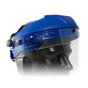 Headgear Blue for Faceshield SG-01-5x01 Ratchet Suspension