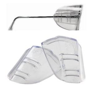 Safety Glasses Universal Flex Sideshields Clear ANSI Z87.1+ 60/PR/BOX