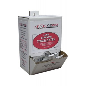 Towelettes Lens Cleaning Anti-Fog Antistatic 100/BX 10/CS