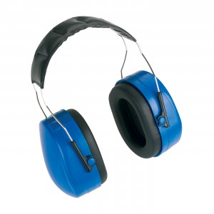 Ear Muffs NRR 24 Padded Foam Headband Blue 15pr/CS