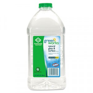 Naturally Derived Glass and Surface Cleaner, 64oz Bottle