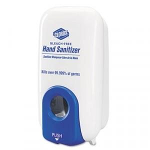 Hand Sanitizer Dispenser, 1000 ml, White/Blue