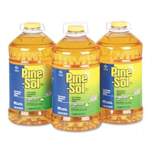 Cleaner Pine Sol Liquid Lemon Fresh 144oz/BTL 3/CS