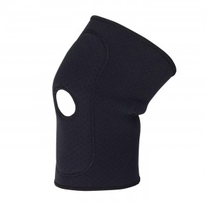 "Knee Sleeve, Large 15-17"", Terry Lined Neoprene w/ Nylon Outer Shell"
