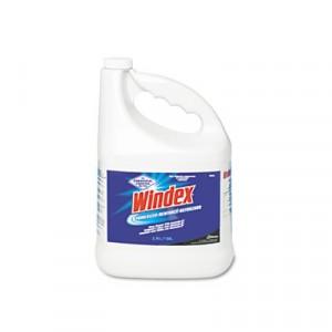 Windex Glass Cleaner Gallon Refill 4/CS