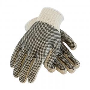 Glove Seamless Knit PVC Coated Double Sided Dense LRG 12PR/BG 20/CS