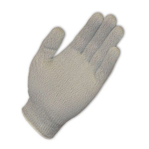 Seamless Knit Nylon / Silver Fiber Electrostatic Dissipative (ESD) Cleanroom Gloves Large