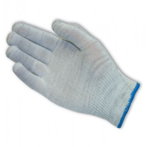 Glove Nylon Knit Seamless Low-Lint Large 25DZ/CS