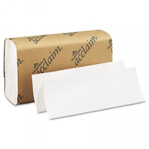 Folded Paper Towel, 9-1/4x9-1/2, White
