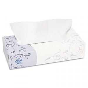 Premium Facial Tissues, Flat Box, 100 Sheets/Box