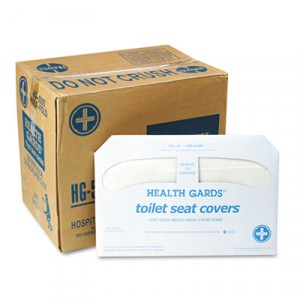 Health Gards Toilet Seat Covers, White