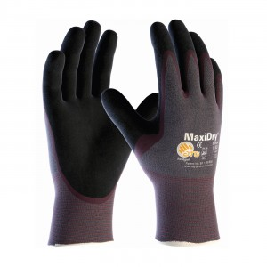 "Glove ""Maxidry"" Coated Palm & Finger Small 6DZPR/CS"