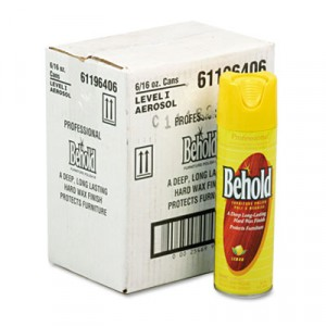 Cleaner 16oz Lemon Professional Behold Aerosol 6/CS