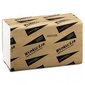 WYPALL L10 SANI-PREP Dairy Towels, S-Fold, 10.5x9.3