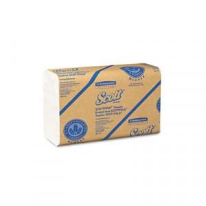 Paper Towel 7-4/5x12-2/5 SCOTTFOLD White 175/PKG 25/CS