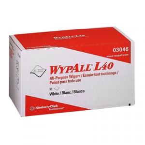 Wipe 10.8x10 WypAll L40 in popup box 90/bx 9/cs