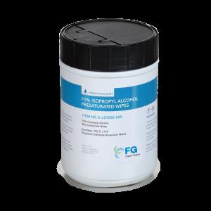 Wipe Polycellulose Pre-saturated 6x8.5 70%Ipa/30%Di 100/CN 4/CS